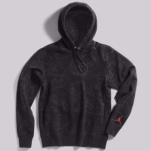 great deals 2017 new cheap low price sale Kaws x Jordan Hoodie LARGE brand new Nike Air NWT